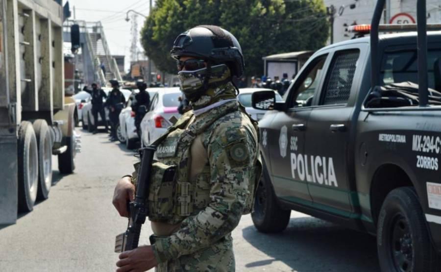 Balacera en Iztapalapa deja dos muertos y un policía herido