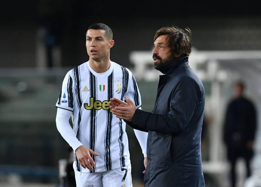 Nedved descarta la salida de Pirlo y Cristiano Ronaldo