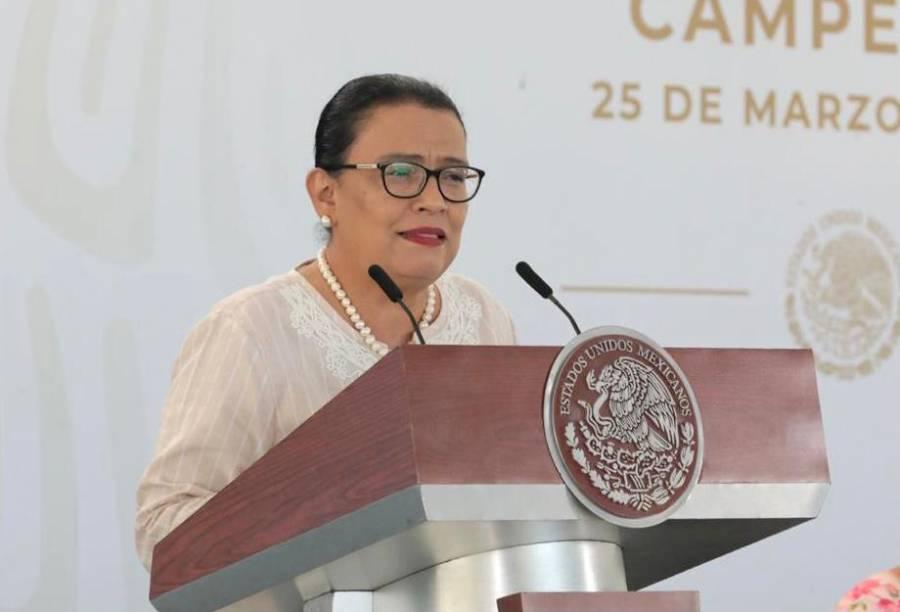 Prioridad de gobierno no es la guerra sino la paz: Rosa Icela Rodríguez