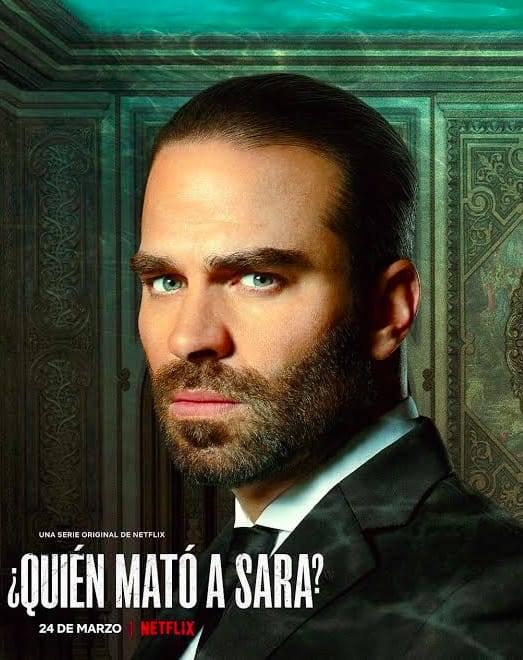 """Alejandro Nones es """"Rodolfo Lazcano"""" en """"¿Quién mató a Sara?"""""""