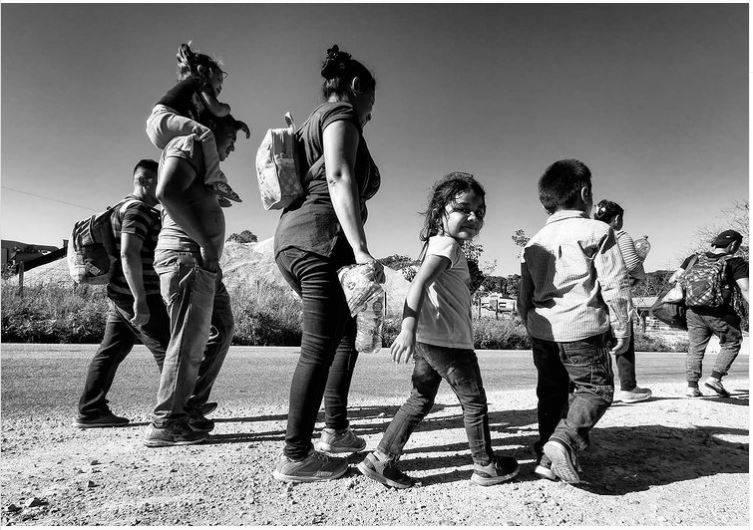 Aumento de mujeres y niñas en ruta migrante