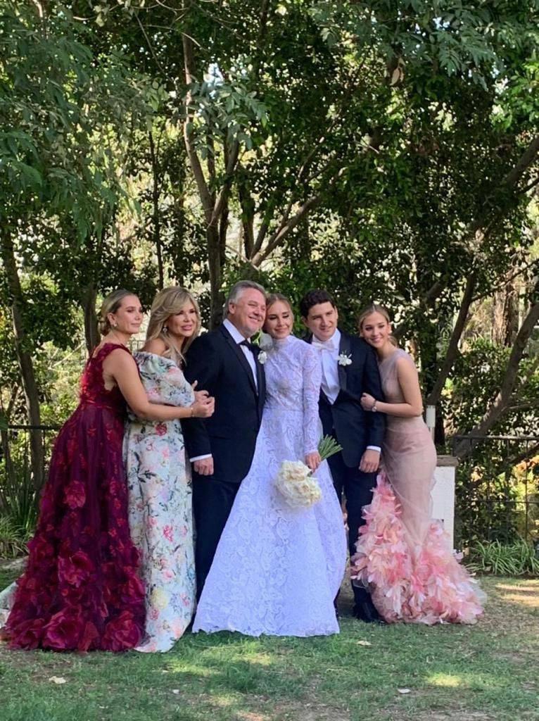 Ostentosa boda de la hija de gobernadora de Sonora, asistieron Salinas de Gortari y Peña Nieto