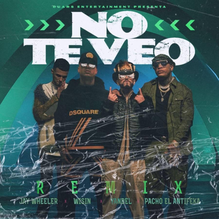 """Pacho El Antifeka estrena """"No Te Veo Remix"""" con Wisin & Yandel y Jay Wheeler"""