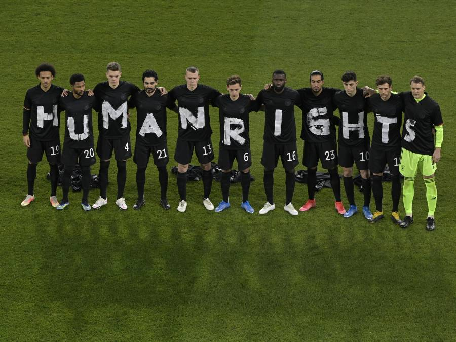 Alemania inicia camino al Mundial con victoria y mensaje sobre Derechos Humanos