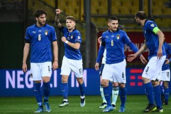 Italia cumple ante Irlanda del Norte y allana su camino a Qatar 2022