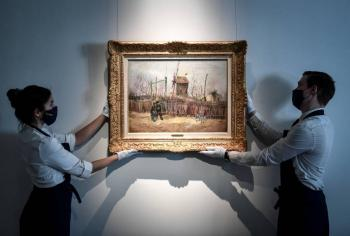 Un lienzo de Van Gogh de su periodo parisino, subastado en 13 millones de euros en París