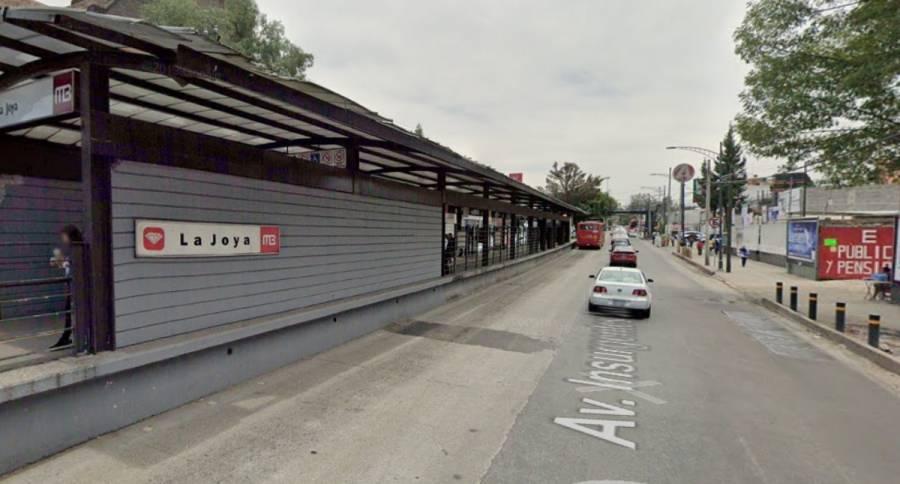 ¡Atención! La estación La Joya del Metrobús cerrará