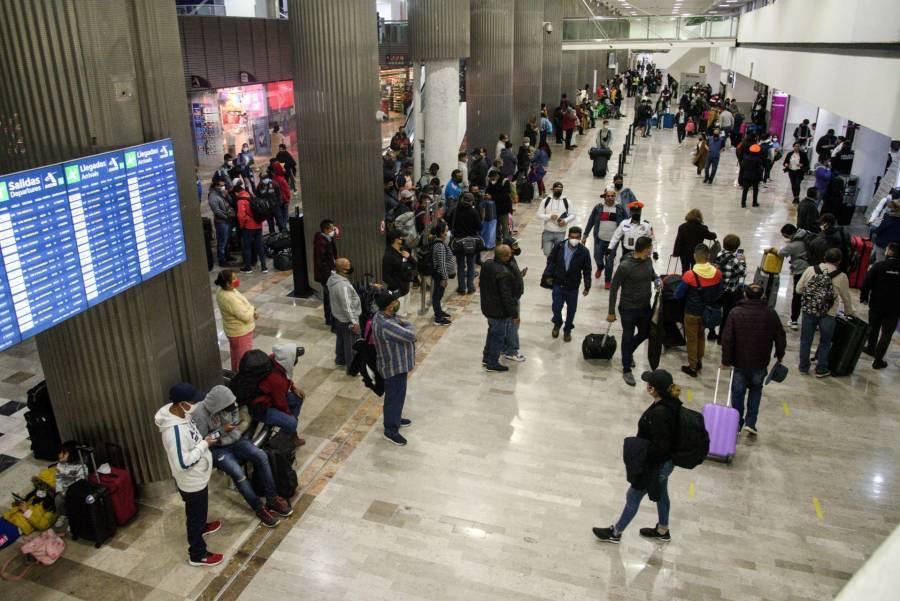 Refuerza AICM medidas sanitarias por vacaciones de Semana Santa