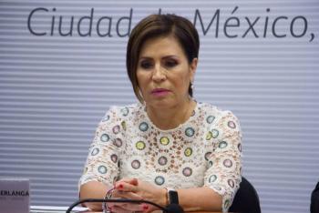 Rosario Robles se declara inocente por caso de la Estafa Maestra