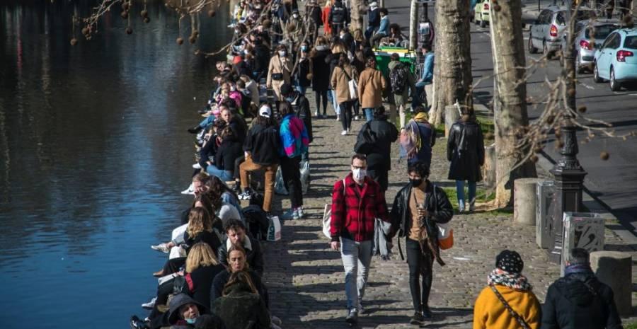 En Francia sube el número de pacientes por COVID-19
