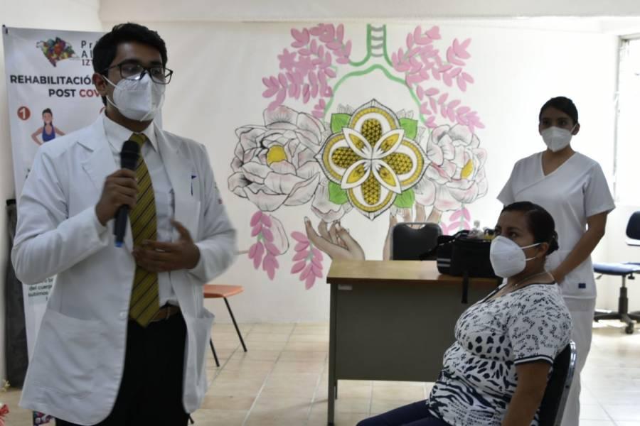 Clara Brugada inauguró la casa de la salud Cocoxcalli para brindar rehabilitación post Covid19