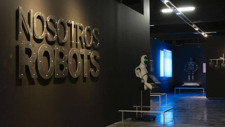 """Universum inaugura recorrido virtual a la exposición """"Nosotros, robots"""""""