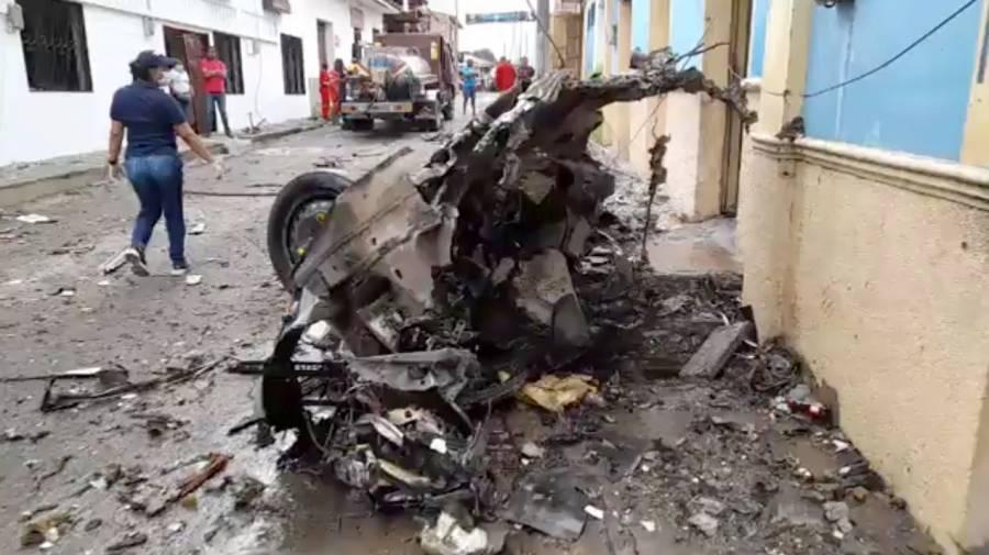 Ataque con coche bomba en Colombia deja al menos 43 heridos
