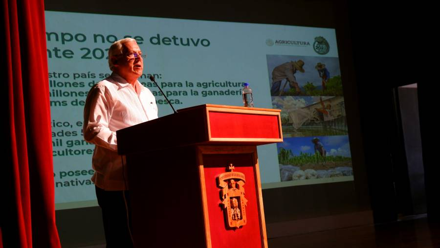 Pide Agricultura eficientar producción de alimentos con relación al uso de agua