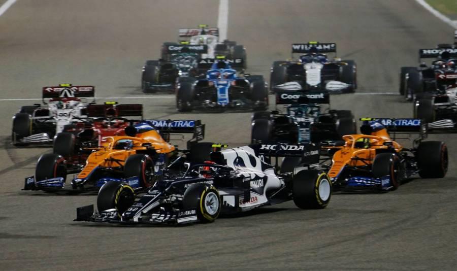 Checo Pérez remonta y termina quinto; Hamilton se lleva el GP de Bahréin