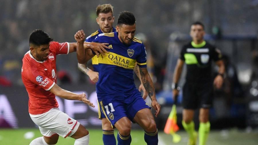 Boca Juniors empata 1-1 con Independiente en liga argentina