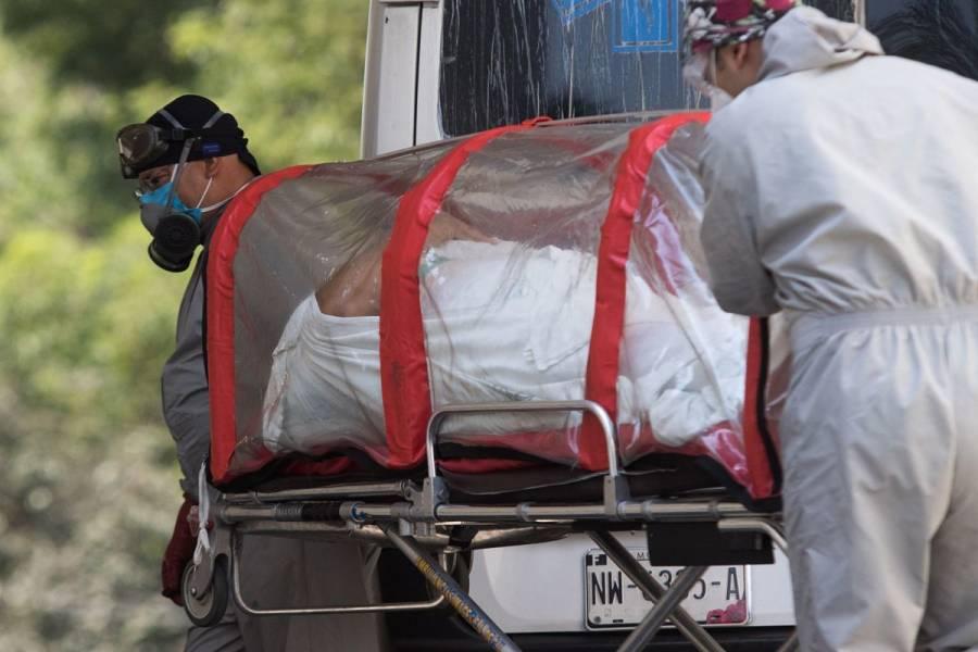 Muertes por COVID-19 en México, 60% más altas que las confirmadas