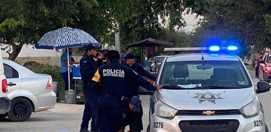 Separan de su cargo a policías que habrían provocado muerte de mujer en Tulum