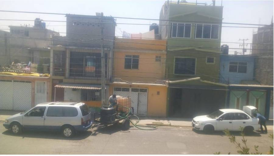 Denuncian gestión de agua en Ecatepec