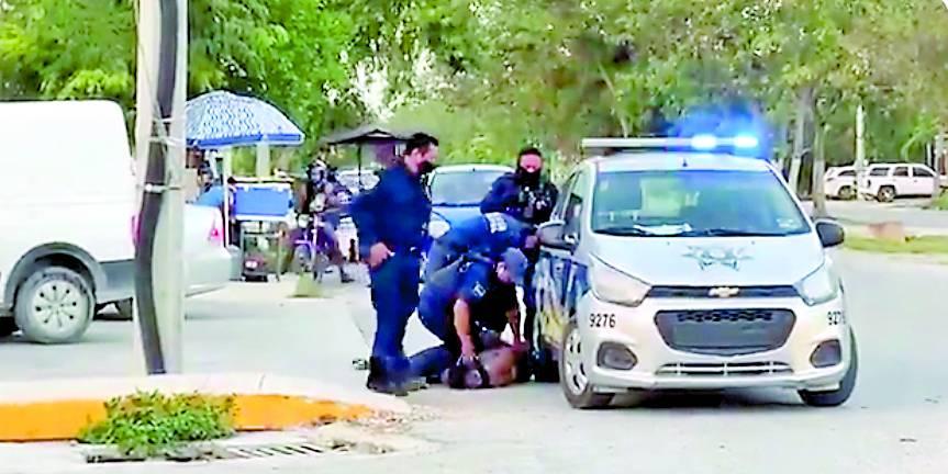 Policías de Tulum matan a migrante durante arresto