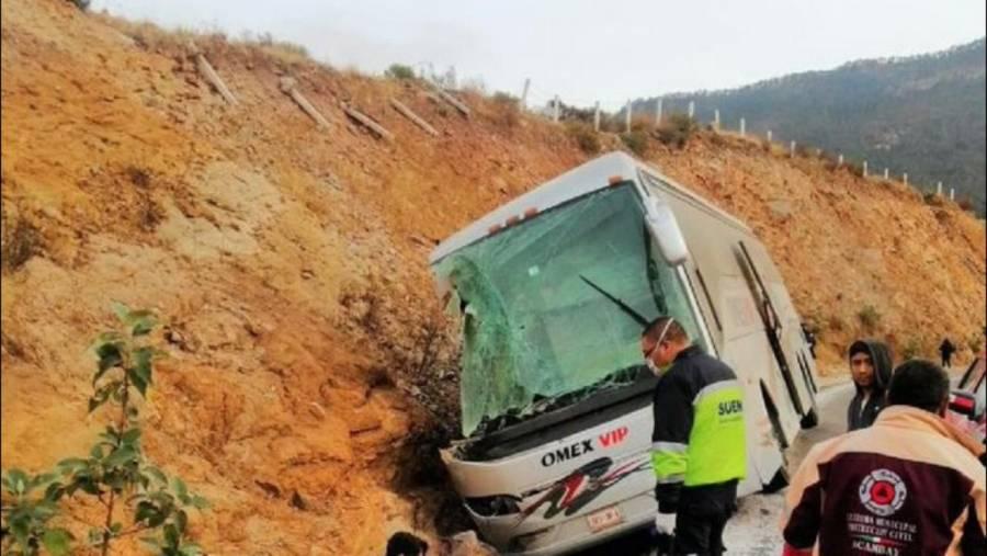 Apoya EdoMéx a lesionados y familiares de personas fallecidas en accidente de Acambay