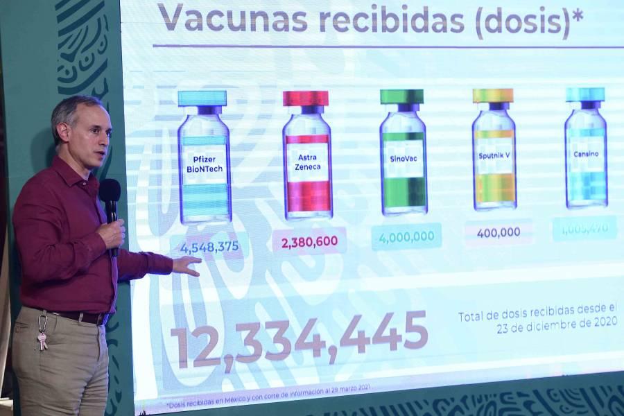 Vacunas usadas por los gobiernos son seguras: Ssa