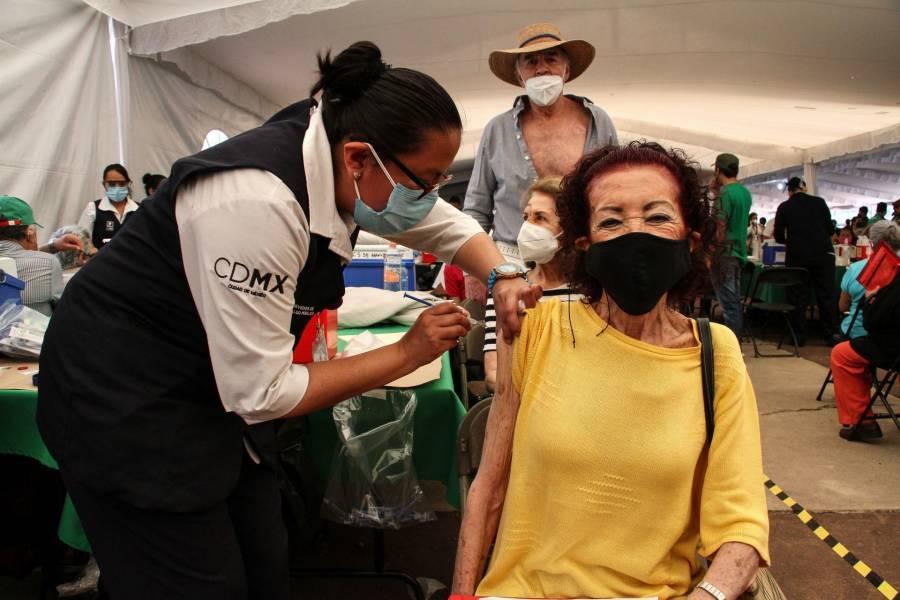 Comienza campaña de vacunación contra COVID-19 en Cuauhtémoc, Benito Juárez y Álvaro Obregón
