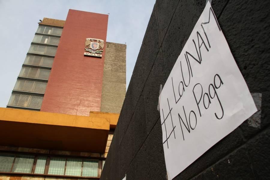 AMLO sobre paros en la UNAM: No se demoraron pagos a universidades