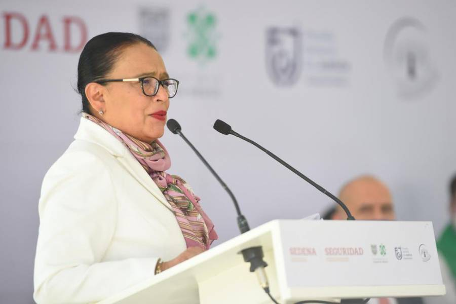 Replicarán programa de Desarme Voluntario en todo el país, anuncia Rosa Icela Rodríguez