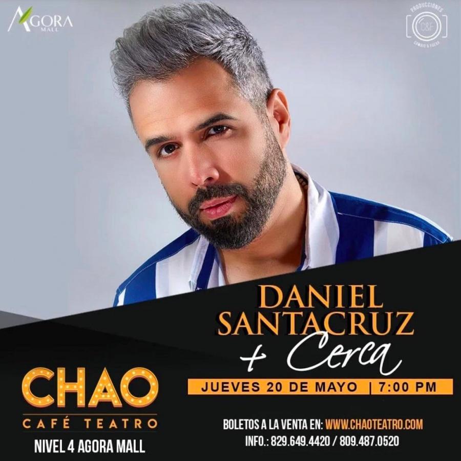 Daniel Santacruz anuncia reencuentro con su público dominicano