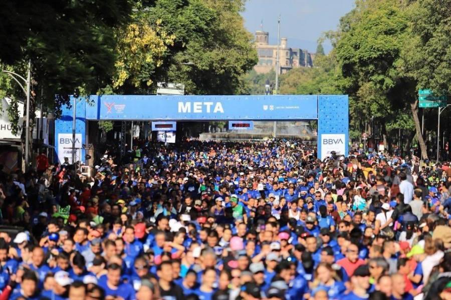 Cambian de fecha Maratón y Medio Maratón de la CDMX 2021
