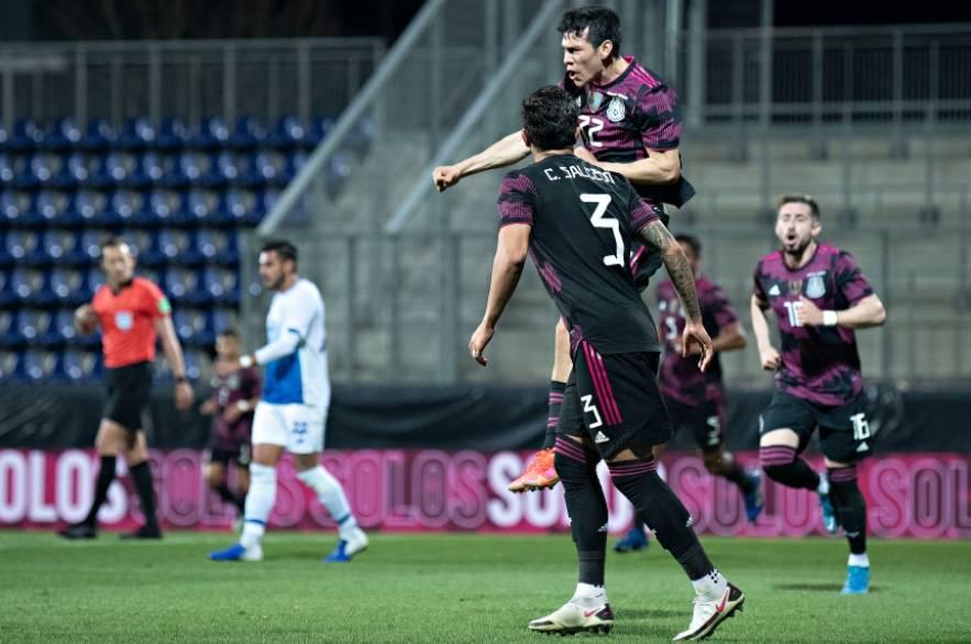 """Con cabezazo de """"Chucky"""" Lozano, México vence a Costa Rica en Austria"""