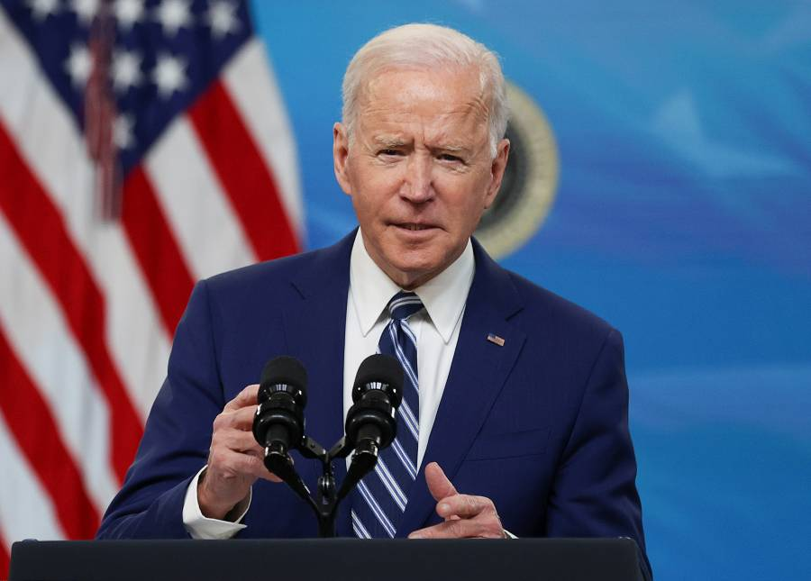 Estamos lejos de ganar la guerra  contra el Covid-19: Biden