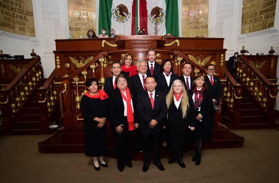 Congreso CDMX aprueba nombramientos de Magistradas y Magistrados del TSJCDMX