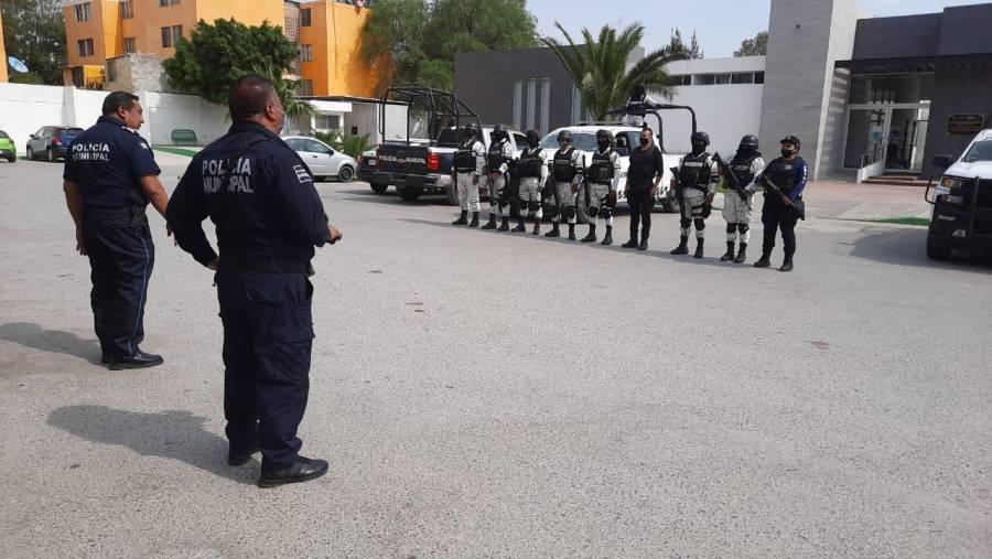 Municipio de Soledad activa operativo de seguridad por Semana Santa