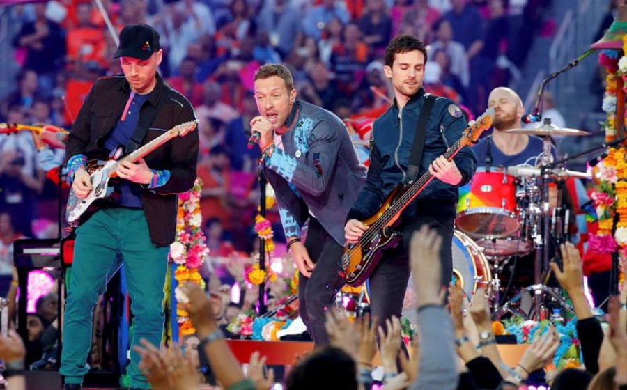 Coldplay encabezará primer show vía streaming de Glastonbury