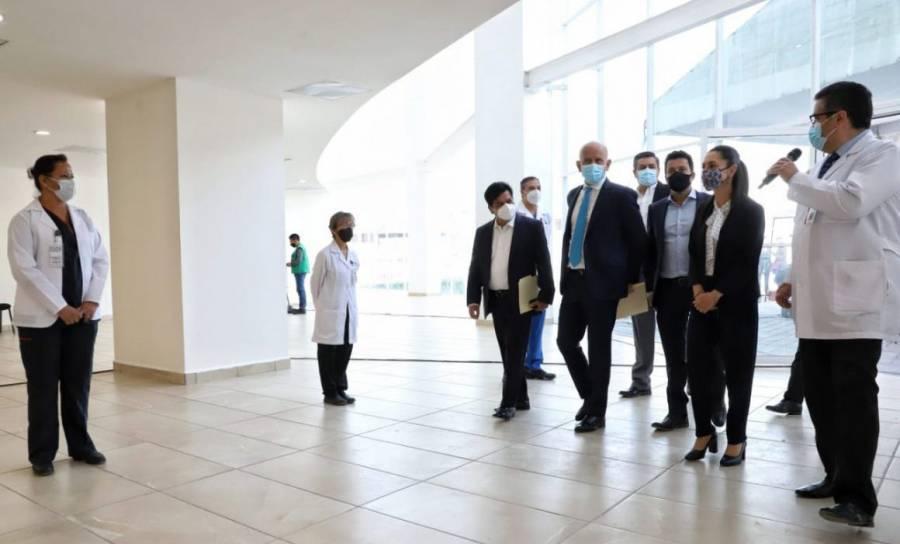En la CDMX se inaugura el Hospital Temporal Covid-19 'La Pastora'