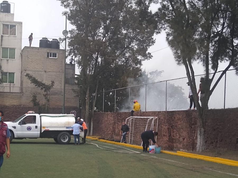 Se reaviva incendio en Fuentes del Pedregal, alcaldía Tlalpan