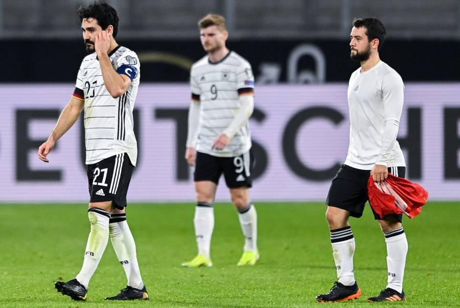 Alemania perdió 2-1 en casa ante Macedonia del Norte