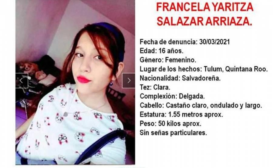 Activan alerta Amber para localizar a Francela, hija de Victoria Salazar
