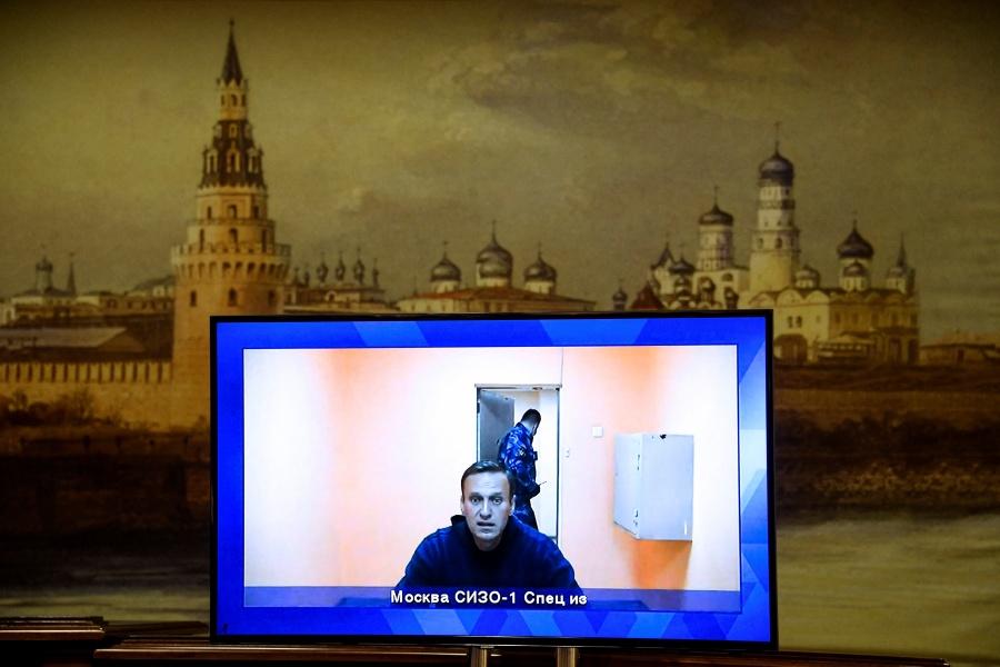 Opositor ruso encarcelado Alexéi Navalni anuncia huelga de hambre