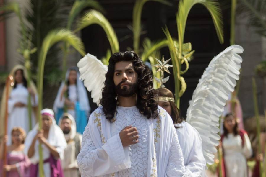 """Más de 400 policías vigilarán la """"Pasión de Cristo"""" en Iztapalapa"""
