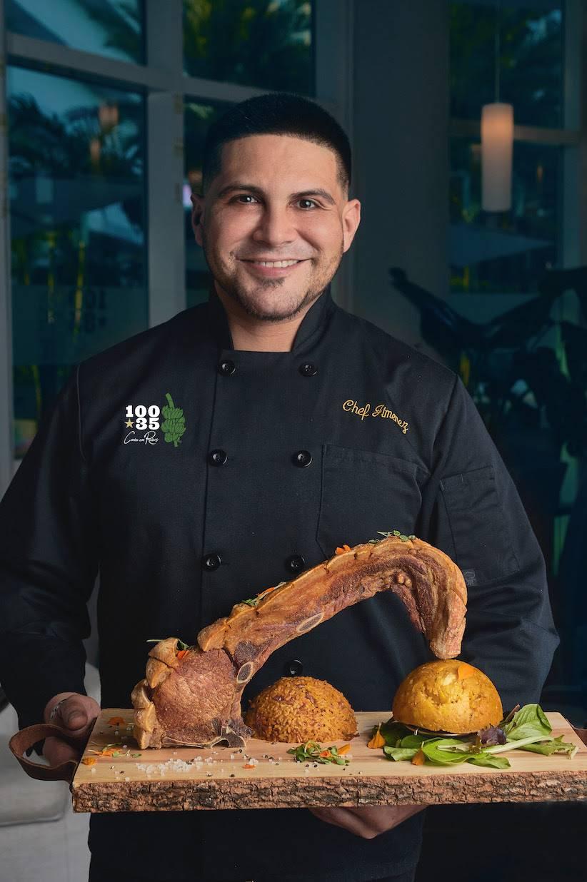 Chef Emanuel Jiménez internacionaliza la cocina boricua de lujo en Miami