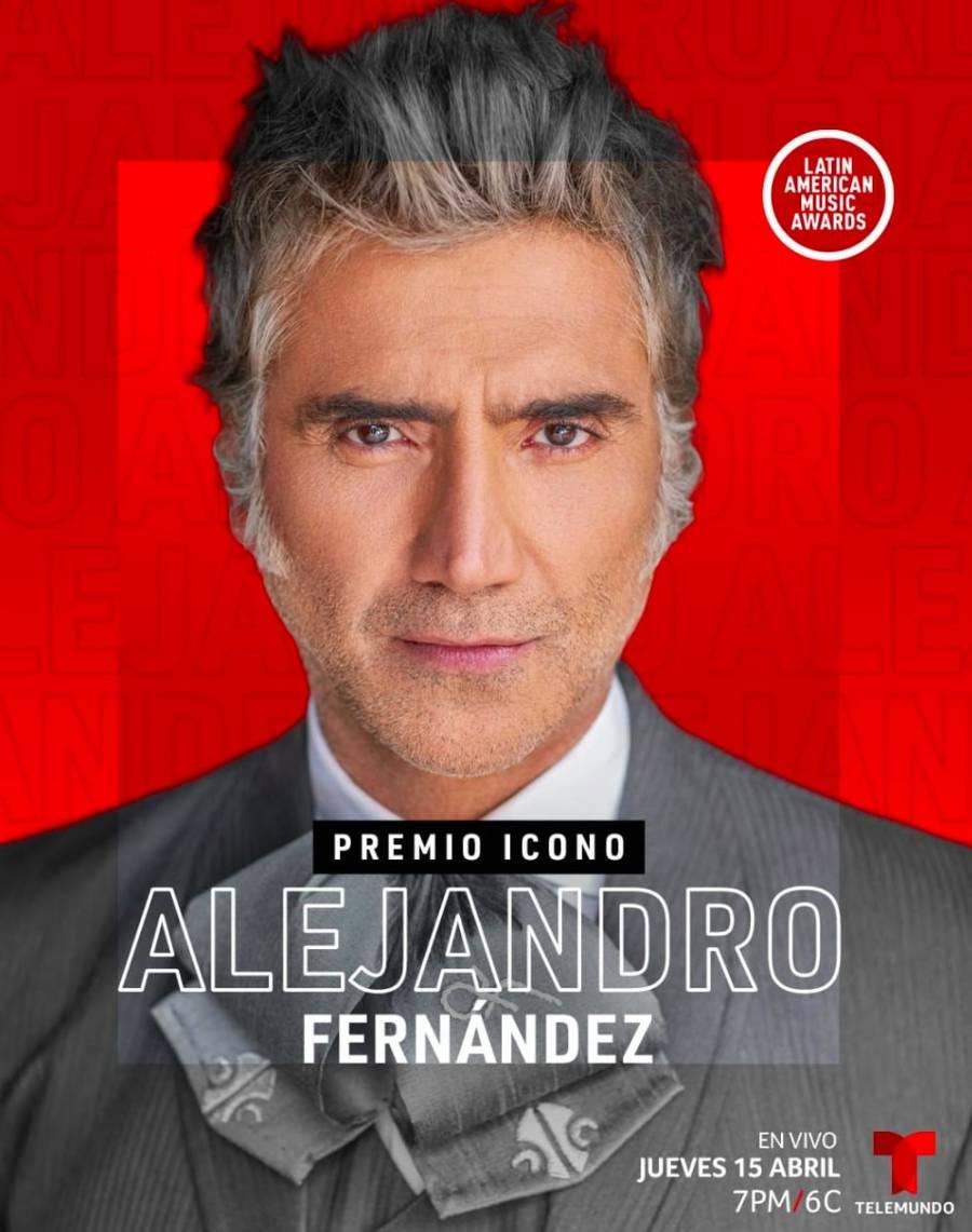 Alejandro Fernández recibirá el Premio Ícono de los Latin American Music Awards