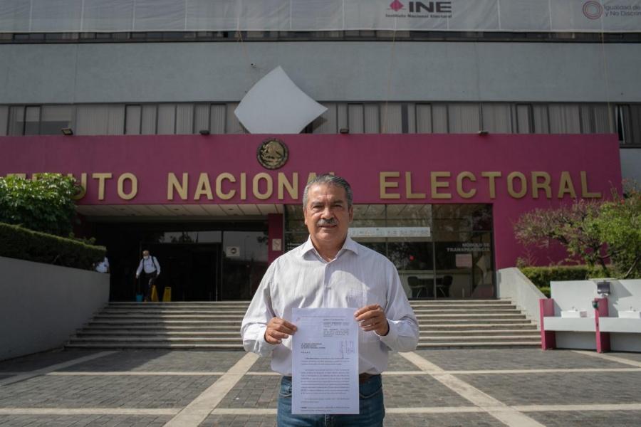 Presenta Raúl Morón impugnación contra resolución del INE que le canceló su candidatura