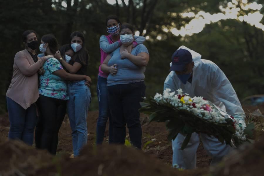 En 24 horas, Brasil suma 3 mil 769 decesos y 91 mil 97 contagios de Covid-19