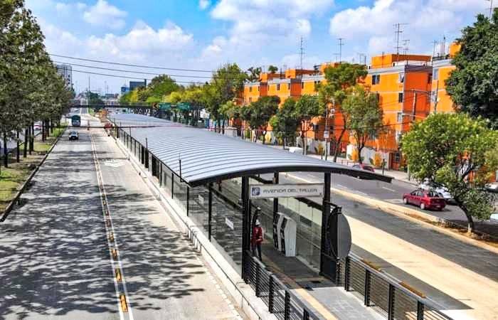 Realizan recorrido de supervisión en obras de ampliación de la Línea 5 del Metrobús