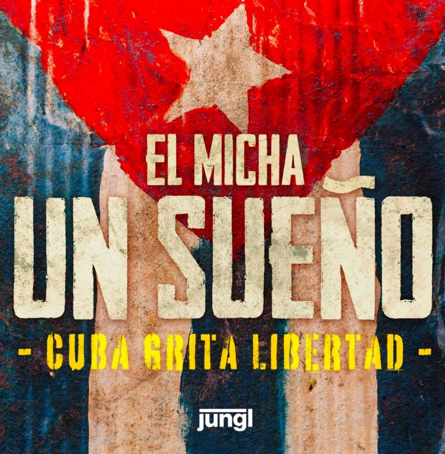 """El Micha plasma la realidad de su país con """"Un sueño, Cuba grita libertad"""""""