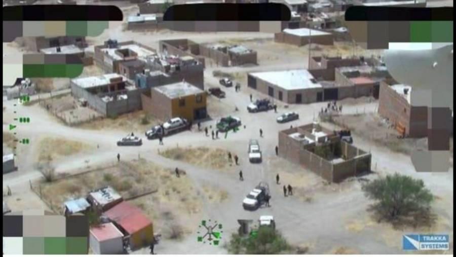 Aseguran en Guanajuato a dos hombres con múltiples armas, drogas y vehículos
