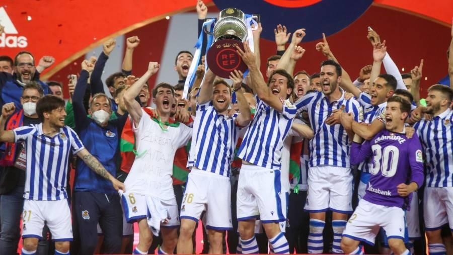 El Real Sociedad campeón de la Copa del Rey